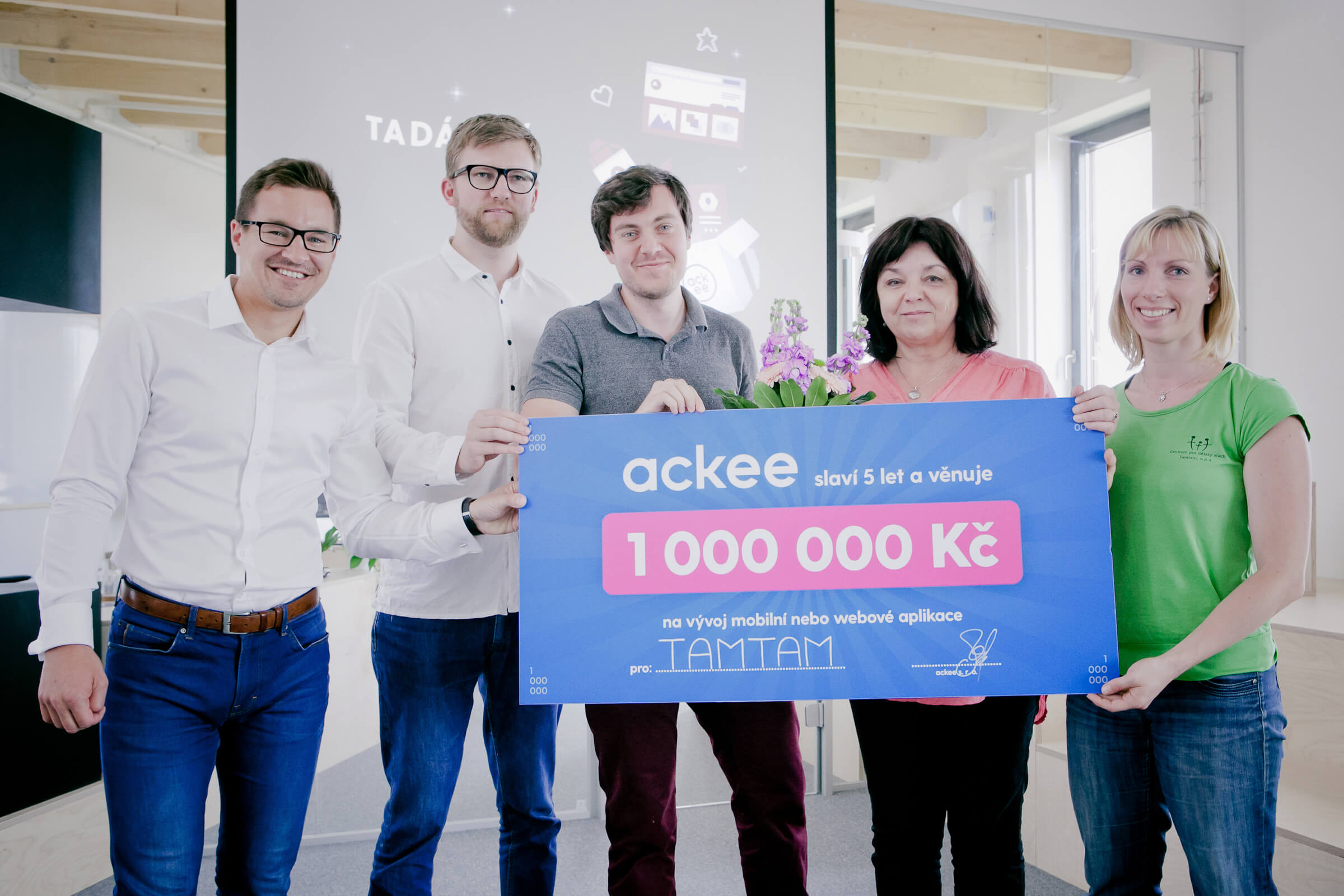 "winners ""app for good"" for a milion crown"