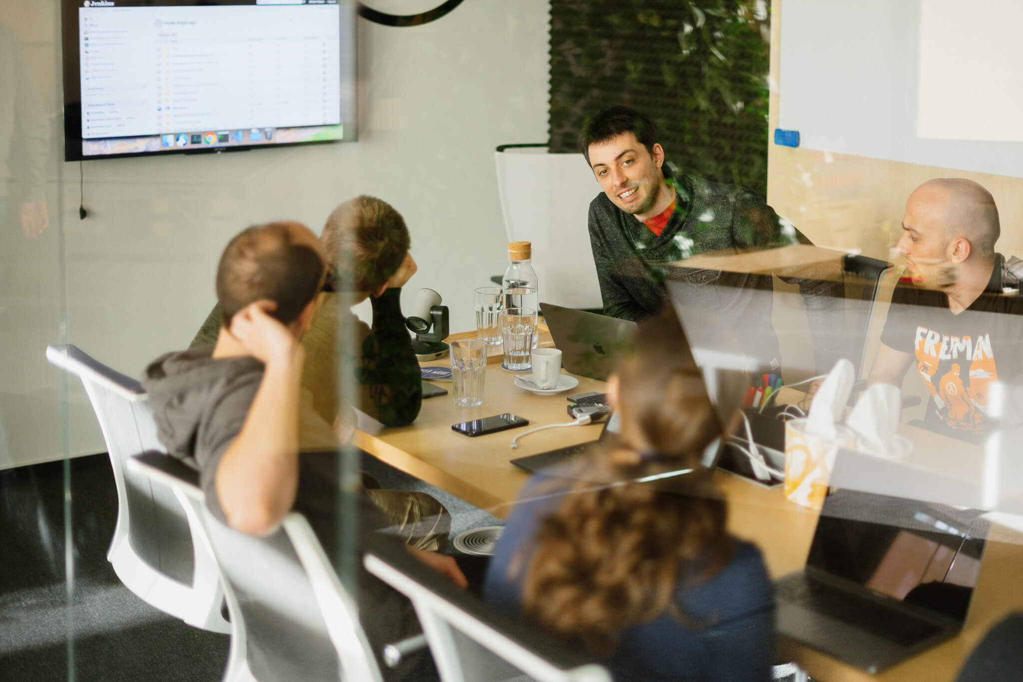 Ackee backend team meeting